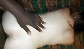 Seks z bladą amatorka od tylca