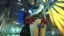 Mercy z Overwatch lubi porządny seks