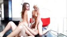 Anikka Albrite i Riley Reid w seks trójkącie