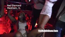 Misty Stone w klubie ze striptizem