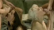 Angelica i Sandra liżą jąderka