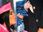 Fajne pieprzenie na pokładzie samolotu