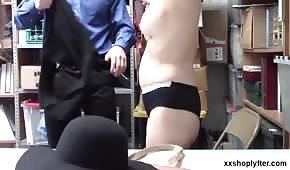 Seks z blondynkami w godzinach pracy