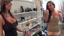 Seksowne laski w garderobie